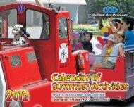 Calendar of Summer Activities 2012 - Ville de Dollard-des-Ormeaux