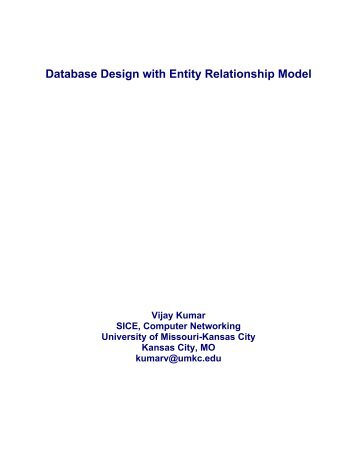 Chapter 4 entity relationship er modeling compiled by mr irfan database design with entity relationship model university of ccuart Choice Image