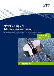 Novellierung der Trinkwasserverordnung - Herrmann Immobilien