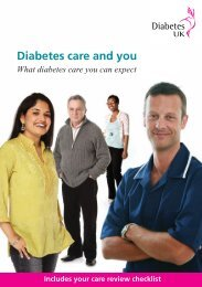 Diabetes care and you - Salforddiabetescare.co.uk