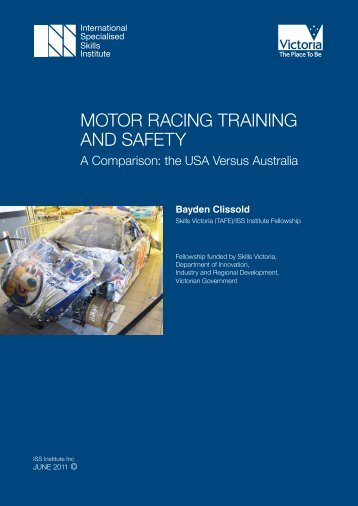 motor racing training and safety - International Specialised Skills ...