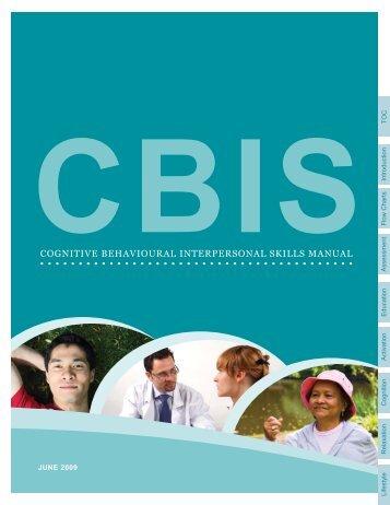 cognitive behavioural interpersonal skills manual - GPSC