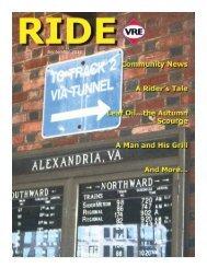 September 2012 - Virginia Railway Express