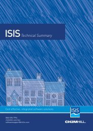 ISIS Technical Summary - Halcrow