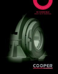 US SD HD Bearings mini Catalog - Cooper Bearings