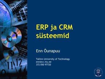 ERP ja CRM süsteemid - tud.ttu.ee