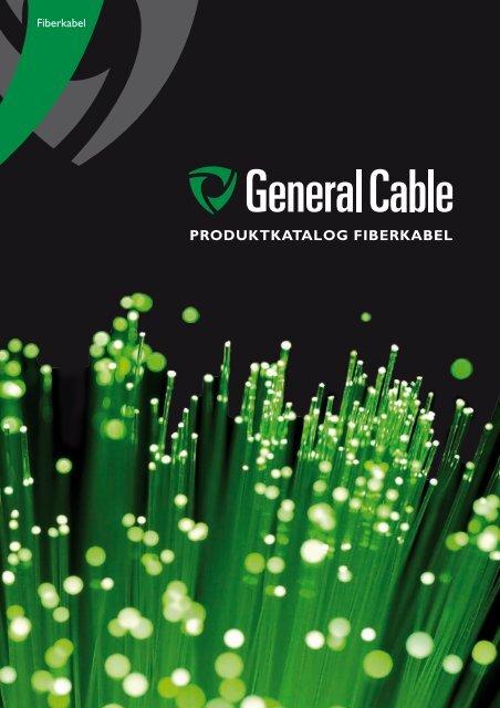 Produktkatalog Fiberkabel - General Cable Nordic AS