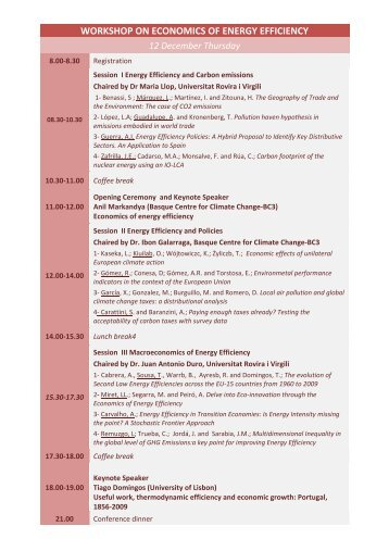 Programme in PDF - Universitat Rovira i Virgili