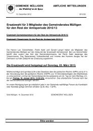 2012-23 - Gemeinde Mülligen