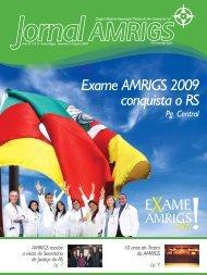 Exame AMRIGS 2009 conquista o RS EXAME