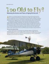Aging GA Aircraft - FAA