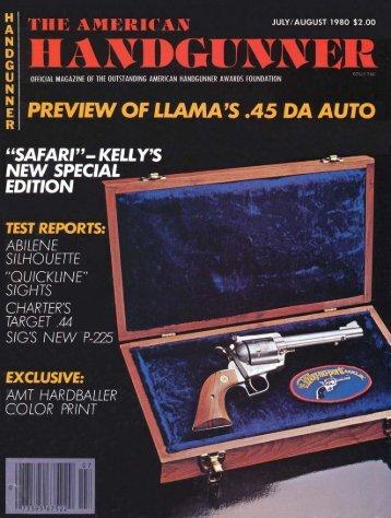 American Handgunner July/August 1980