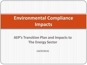 John Mazzone, Director of Asset Planning and Fleet Optimization, AEP