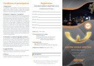 OSSTEM WORLD MEETING 2013 Shanghai Registration ...