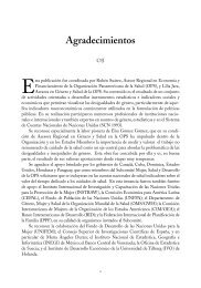 Agradecimientos - PAHO Publications Catalog