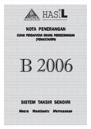 Nota Penerangan B 2006 - Lembaga Hasil Dalam Negeri