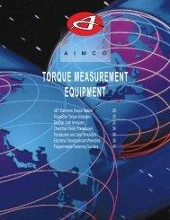 Torque measurement systems Catalogue (format: pdf ... - techsystem