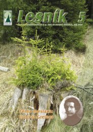 Lesník 5 2006 - Lesy SR š.p.