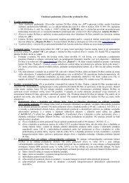 Všeobecné podmienky Zľavového systému Dr ... - Lekáreň Dr.Max