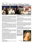 John Abbott's Life as a College Riding Coach - Sidelines Magazine - Page 5