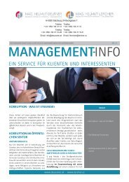 Management-Info Nr.21