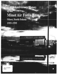 mot, North - The Minot AFB UFO case
