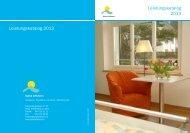 Leistungskatalog 2013 Leistungskatalog 2013 - Spital Affoltern