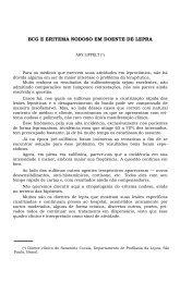 BCG E ERITEMA NODOSO EM DOENTE DE LEPRA