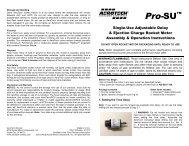 Pro-SU Instructions - AeroTech