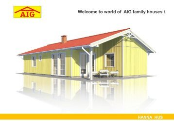 Frontage - AIG Family Houses