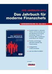 Das Jahrbuch für moderne Finanzchefs