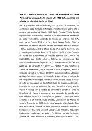 Usina Termelétrica Integrada de Vitória - Instituto Estadual de Meio ...