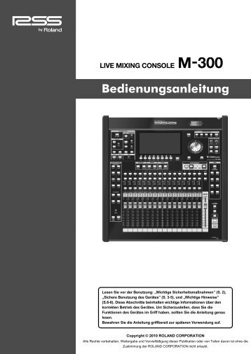 Links zum Download - Roland Systems Group