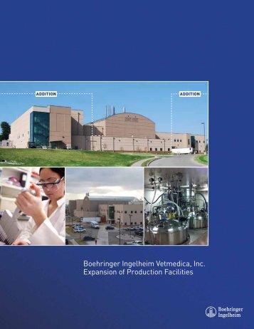 Boehringer Ingelheim Vetmedica, Inc. Expansion of ... - Beef