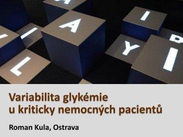 Variabilita glykemie a jeji konsekvence u kriticky nemocných