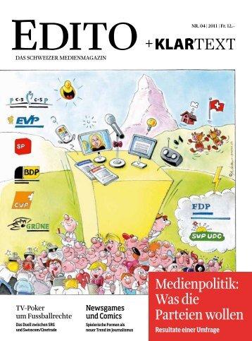 Version PDF - Edito + Klartext