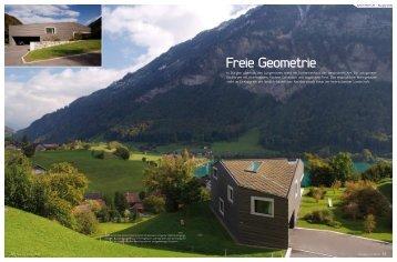Freie Geometrie - Schnieper Architekten