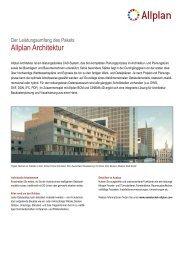 Datenblatt Allplan Architektur - Nemetschek Allplan