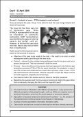Workshop on Knowledge Management in Civil Society ... - Leisa India - Page 6