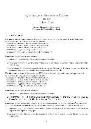 Algorithmique et Structures de Données TD n6 Piles et Files