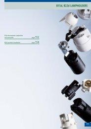 B15d, B22d LAMPHOLDERS - bei ARDITI GMBH