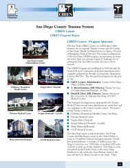 San Diego County Trauma System CIREN Program Report