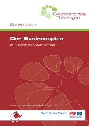Der Businessplan - BM-T Beteiligungsmanagement Thüringen GmbH