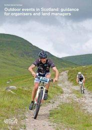 Outdoor events in Scotland - Scottish Natural Heritage