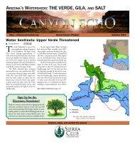 Summer 2013 Echo (2.4 MB pdf) - Arizona Sierra Club