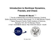 Introduction to Nonlinear Dynamics, Fractals, and Chaos