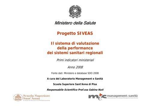 Valutazione indicatori ministeriali