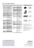 DXC-C33/P 3CCD COLOUR REMOTE HEAD VIDEO CAMERA - Page 4