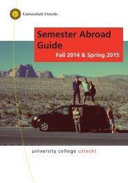 Semester Abroad Guide - Universiteit Utrecht