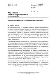 Allgemeine Verwaltungsvorschrift zum Aufenthaltsgesetz - Joergalt.de